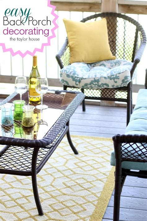 back porch decorating ideas back porch decorating ideas the taylor house
