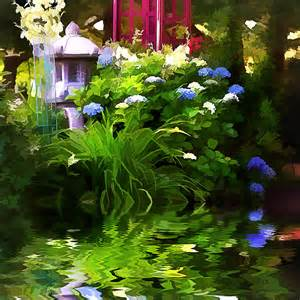 magical garden photograph by trudy wilkerson
