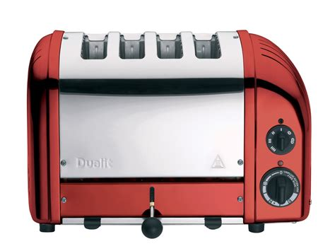 Dualit Red Toaster Apple Candy Red 4 Slice Toaster The Original 4 Slot