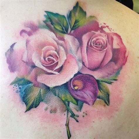 bouquet of roses tattoo 1000 ideas about flower bouquet on
