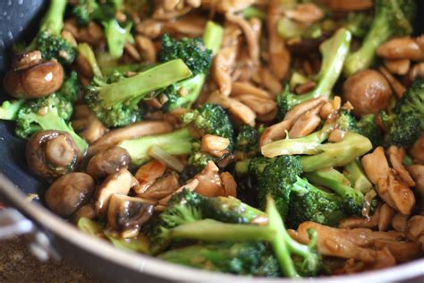 barefeet in the kitchen ginger chicken and broccoli stir fry