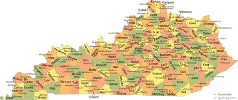 map of kentucky counties kentucky map of counties clubmotorseattle