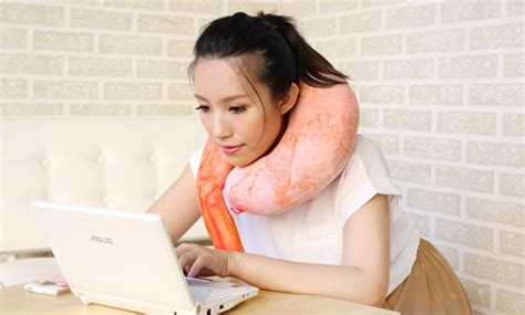 can t sleep this shrimp pillow from japan will cradle you