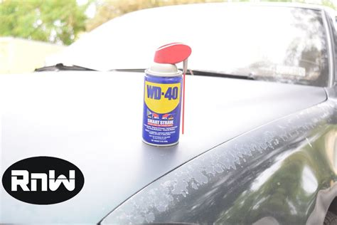 get paint how to remove scratches from your car wd 40 test youtube