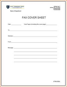 Letter Cover Sheet by 8 Printable Fax Cover Sheet Budget Template Letter