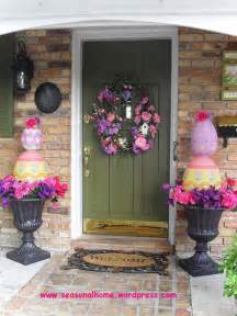 outside decorations ideas 29 cool diy outdoor easter decorating ideas amazing diy