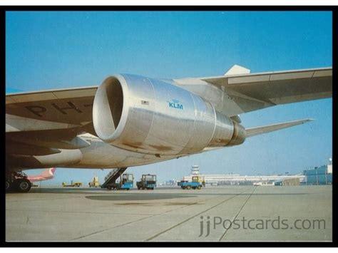 klm air filters dusseldorf klm 747 cp air 747 jjpostcards