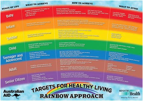 the rainbow diet a holistic approach to radiant health through foods and supplements books ncd ministry of health and services