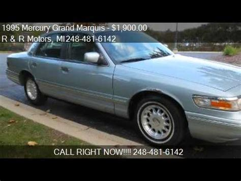 waterford ls for sale 1995 mercury grand marquis ls for sale in waterford mi
