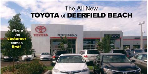 Toyota Of Deerfield Toyota Of Deerfield Deerfield Fl 33441 Car