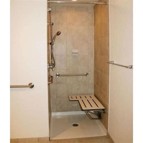 Transfer Shower by Freedom Ada Shower Base Fiberglass 38 5 8 Quot X 38 7 16 Quot