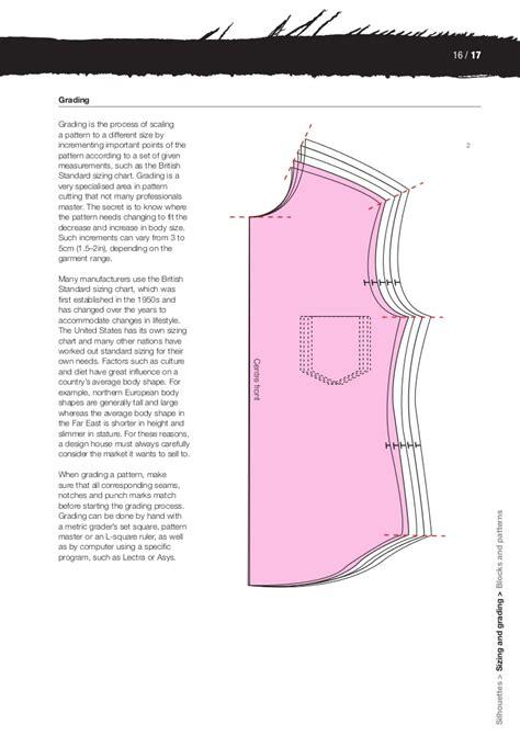 pattern grading in london basics fashion design construction 2009 bbs