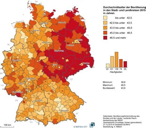 Finding In Germany Here S Where To Find The Youngest Populations In Germany