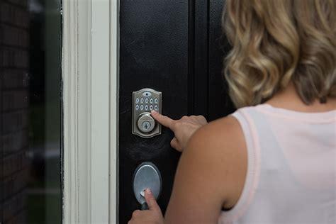 automated door locks koorsen home security