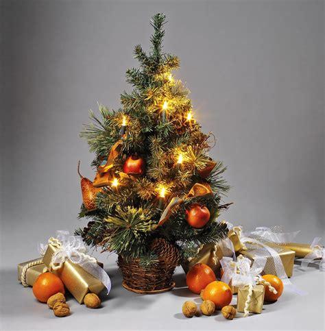 brauns heitmann weihnachtsbaum 45 cm mit 10 teilig