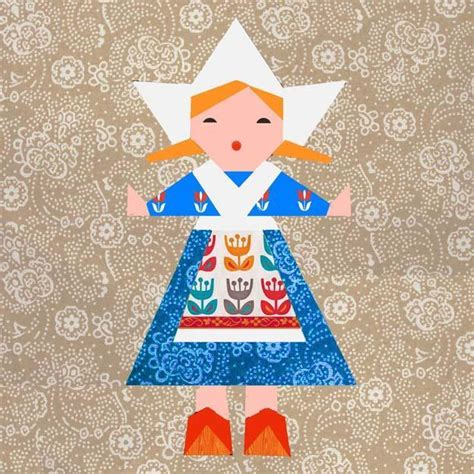 Doll Quilt Pattern by Doll Paper By Cyrille Quilting Pattern