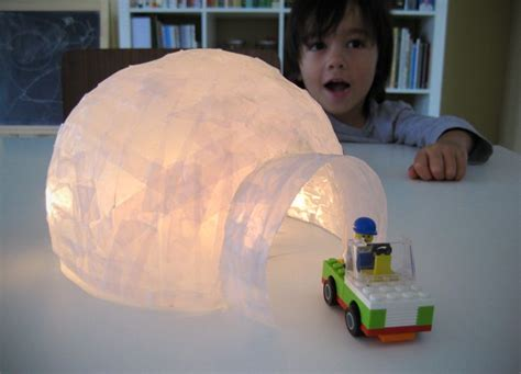 How To Make A Paper Mache Igloo - paper mache igloo release your inner child
