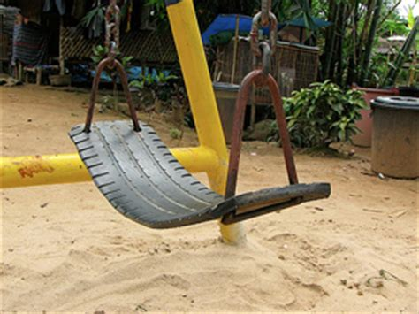 tire swing seat cool playgrounds wood tires in thailand