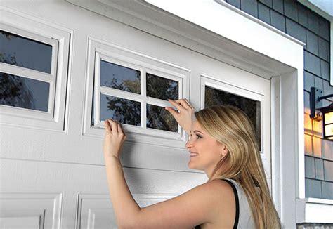 Clopay Garage Door Window Inserts by Clopay Door How To Clean Your Garage Door Windows