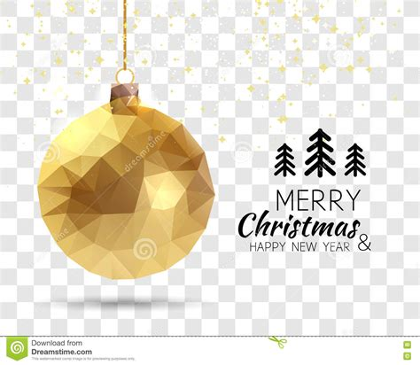 merry happy new year in merry happy new year trendy triangular gold