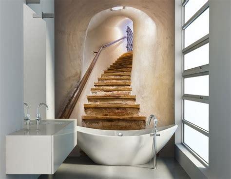 badezimmer tapete badezimmer ideen f 252 r kleine b 228 der mit fototapeten