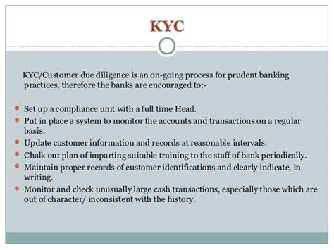 kyc for banks kyc your customer