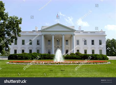 White House Official White House Official Residence Principal Workplace Stock