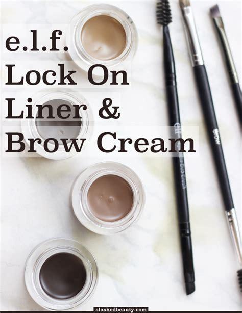 E L F Lock On Liner And Brow review e l f lock on liner brow slashed