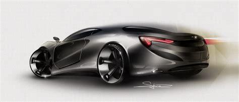 simon larsson sketchwall photoshop car rendering
