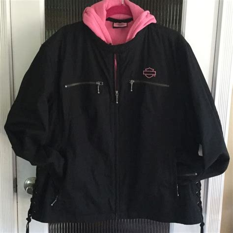 Harley Davidson 3 In 1 Jacket by Harley Davidson Harley Davidson Pink Label 3 In 1 Jacket