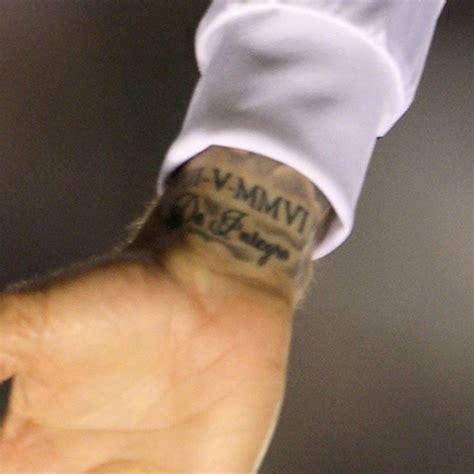 roman numeral wrist tattoo 51 numerals wrist tattoos
