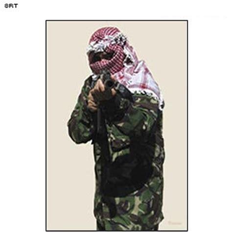 printable terrorist targets law enforcement targets action target man firing rifle
