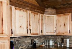Discount Hickory Kitchen Cabinets Rustic Kitchen Cabinet Jpg 450 215 309 Kitchen Popular Lodges And Log Homes