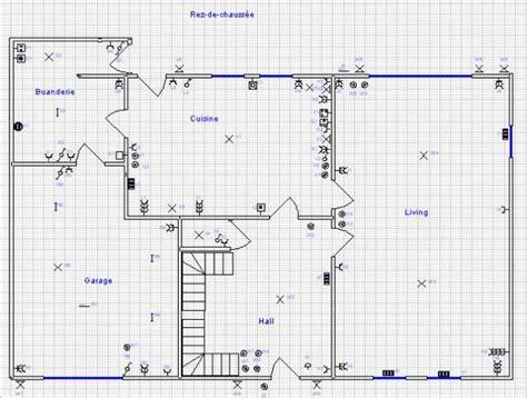 Chalet Home Plans by Plan Electrique De Maison