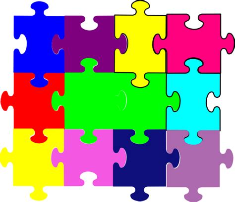 large printable jigsaw puzzles jigsaw puzzle clip art at clker com vector clip art