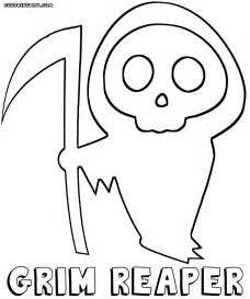 grim reaper coloring pages coloring pages download print