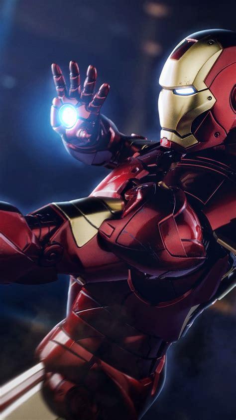 wallpaper iron man marvel superhero  creative