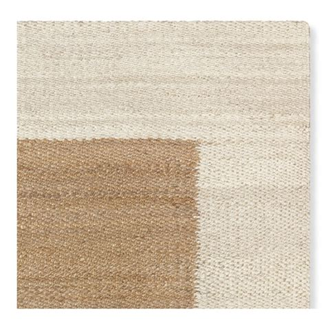rug swatch bordered rug swatch ivory williams sonoma