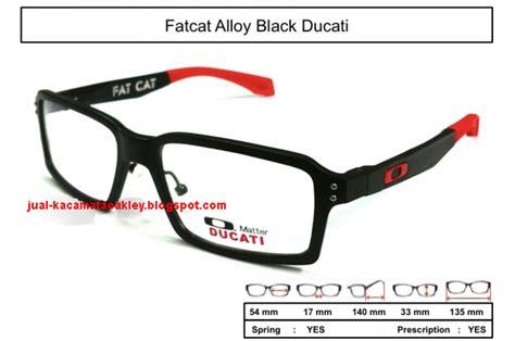 Kaca Mata Branded Murah Frame Sport Black Ducati frame kacamata oakley fatcat alloy black ducati kaca