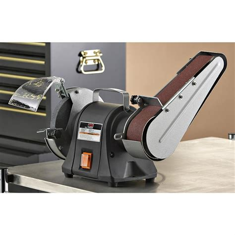 bench grinder sander bench grinder sander 153501 power tools at sportsman s guide