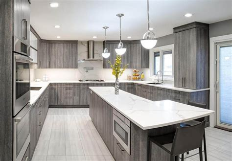 gray stained kitchen cabinets best 25 ideas