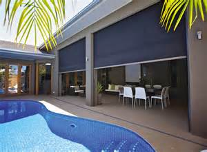 Outdoor Patio Wind Screens Zip Screen 174 Awnings Noosa Screens And Curtains Screens