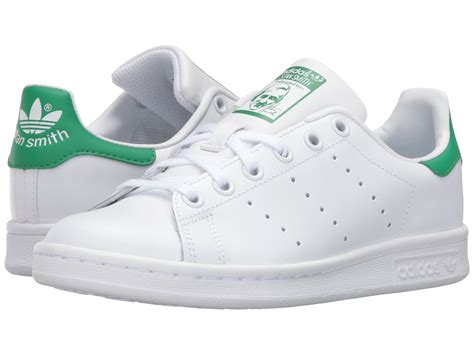 adidas originals stan smith big kid at zappos