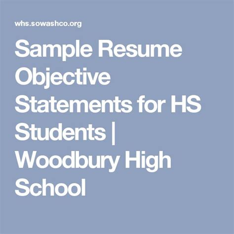 state your career objectives for the next three years 25 best ideas about resume objective sle on