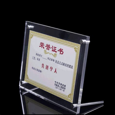 photo frame display acrylic photo frame magnetic photo frame sign display