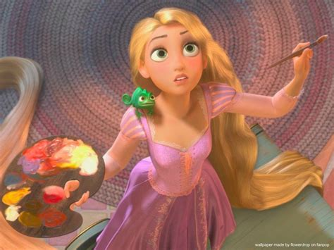 princess painting free rapunzel wallpaper disney princess wallpaper 28959684