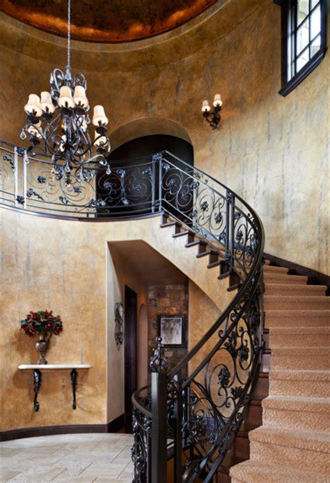 colorado tuscan house  pool mediterranean staircase