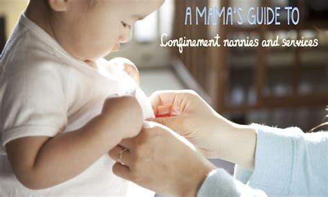 pregnancy confinement hair style sassy mama s guide to confinement nannies in singapore