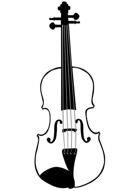 imagenes de instrumentos musicales para dibujar a lapiz dibujo para colorear viol 237 n img 10033
