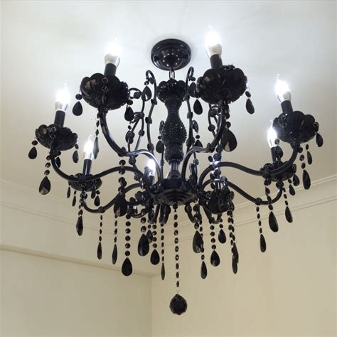 black chandelier dining room compare prices on bohemian chandelier
